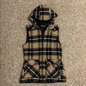Kavu Campout Flannel women's vest XS